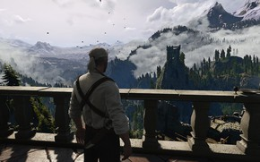 Картинка The Witcher 3: Wild Hunt, Geralt of Rivia, CD Project RED, Kaer Morhen, 21:9, UltraWide