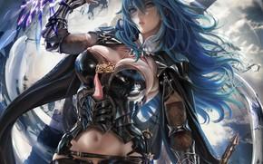 Картинка девушка, игра, аниме, sakimichan, Fire Emblem
