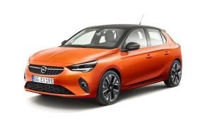 Картинка белый фон, Opel, Corsa-e, 2019-20