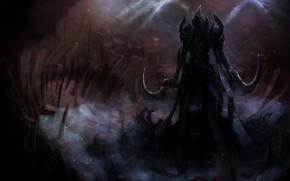 Картинка Diablo 3, Diablo, Death, Angel, Angel of Death, Malthael, Archangel of Wisdom, Aspect of Death, …