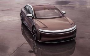Картинка седан, люкс, электромобиль, Lucid Air, Lucid Electric Advanced Platform, 1080 л.с., Lucid Motors, Lucid Space …