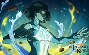 Картинка магия, Korra, Smite, магия воды, Skadi