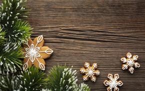 Картинка печенье, Рождество, Новый год, ёлка, Happy New Year, Christmas, New Year, Happy Christmas