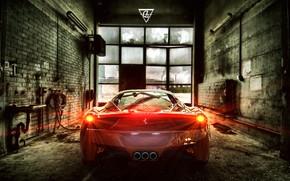 Картинка Авто, Машина, Ferrari, 458, Суперкар, Ferrari 458, Transport & Vehicles, Ferrari 458 in Prison, by …