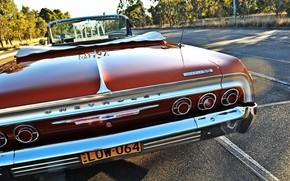 Картинка Red, Car, Impala, Lowrider, Custom