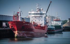 Картинка корабли, порт, танкер, Нидерланды, Vlissingen