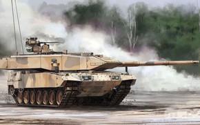 Картинка Германия, основной боевой танк, Бундесвер, Leopard 2A7, MBT