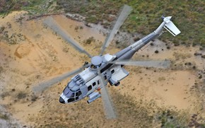 Картинка Вертолет, Airbus Helicopters, H225, Airbus Helicopters H225M