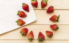 Картинка ягоды, клубника, wood, strawberries