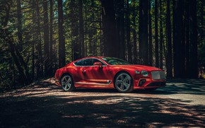 Картинка Bentley, Continental GT, V8, 2019