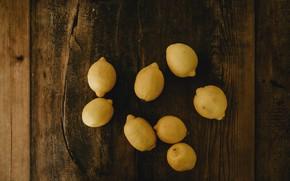 Картинка доски, фрукты, лимоны