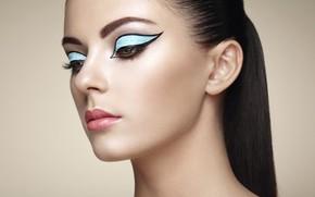 Картинка девушка, стиль, макияж, Oleg Gekman