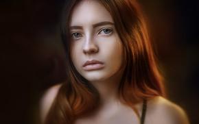 Картинка губки, локоны, Alexander Drobkov-Light, Eva Lapenko