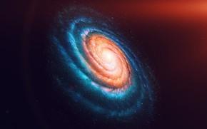 Картинка stars, galaxy, spiral