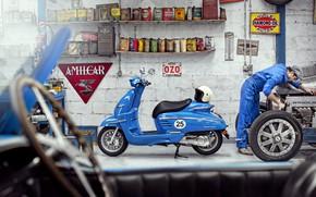 Картинка Пежо, Peugeot, скутер, Peugeot Scooter, Джанго Спорт, Peugeot Django Sport