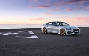 Картинка закат, Audi, вечер, RS5, Sportback, RS 5, 2020