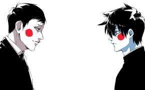 Картинка аниме, парни, Mob Psycho 100, Моб психо 100