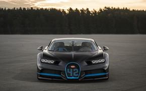 Картинка Bugatti, суперкар, гиперкар, 2017, Chiron, 42 seconds