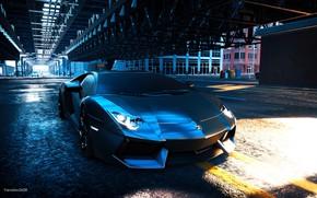 Картинка игры, lamborghini, автомобиль, aventador, lamborghini Aventador, The Crew 2