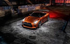Обои GTR, Light, Nissan, R35, Graphity, Bronze