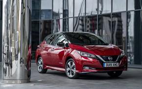 Картинка Nissan, электромобиль, Leaf