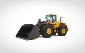 Картинка volvo, excavator, wheel loader, L180 G