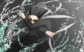 Картинка лента, парень, учитель, Boku No Hero Academia, Моя Геройская Академия, Шота Айзава