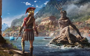 Обои Assassin's Creed Odyssey, Одиссея, Assassin's Creed, Ubisoft, Odyssey, Ubisoft Quebec