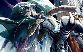 Картинка парень, Атака Титанов, Shingeki No Kyojin, Леви, капрал