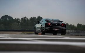 Картинка пасмурно, Nissan, GT-R, R35, Nismo, ItalDesign, 2020, V6, GT-R50, 720 л.с.