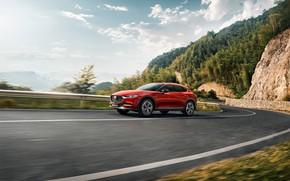 Картинка дорога, горы, транспорт, автомобиль, Mazda CX4
