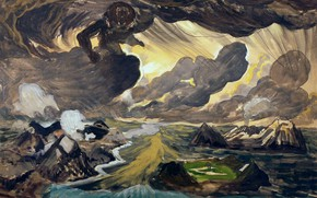 Картинка Genesis, 1924, Charles Ephraim Burchfield