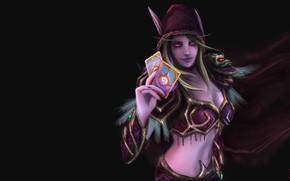 Картинка игра, фэнтези, арт, World of Warcraft, Natalia Romero Núñez, Sylvanas - It's my turn