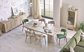 Картинка стиль, комната, интерьер, столовая