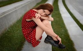 Картинка платье, ножки, Лев Омельницкий, Olesya Kyzina
