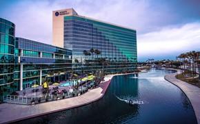 Картинка Калифорния, США, отель, Long Beach