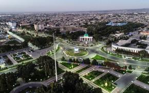 Картинка аэрофотосъемка, Uzbekistan, Andijan, Андижон