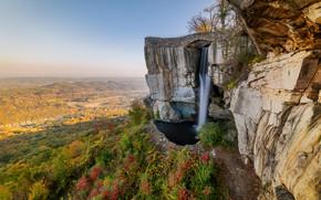 Картинка Водопад, Chattanooga, Смотровая площадка, Rock City, Lovers Leap