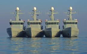 Картинка Дания, охрана, катера, береговая, патрульные