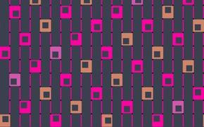 Картинка фон, квадраты, wallpaper, design, art, pattern, backgroun