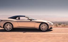 Картинка Aston Martin, вид сбоку, 2018, Volante, DB11