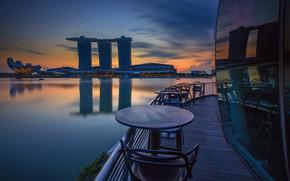 Картинка здание, Азия, Сингапур, отель