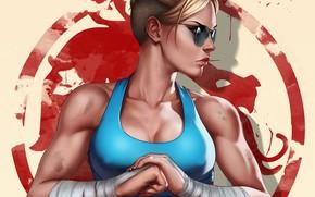 Картинка девушка, art, Mortal Kombat, Cassie Cage, Кэсси Кейдж, by Dandonfuga