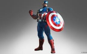 Картинка герой, щит, Captain America, Steve Rogers, the black order, marvel ultimate alliance 3