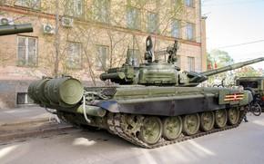 Картинка танк, Т-72 Б3, бронетехника России, подготовка к Параду Победы