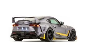 Картинка Concept, Toyota, вид сзади, Supra, 3000GT, 2019, GR Supra, A90, SEMA 2019