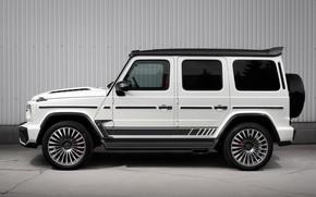 Картинка Mercedes-Benz, вид сбоку, AMG, Inferno, G-Class, Gelandewagen, TopCar, G63, Edition 1, 2019