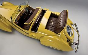 Картинка Салон, Bugatti, Classic, Хром, 1935, Classic car, Gran Turismo, Молоток, Type 57, Bugatti Type 57 …