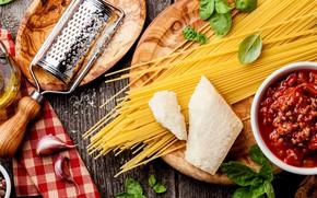 Картинка сыр, спагетти, соус, пармезан, болоньезе, терка