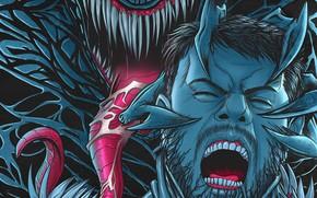 Картинка крик, Веном, Venom, Эдди Брок